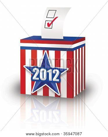 2012 Ballot Box