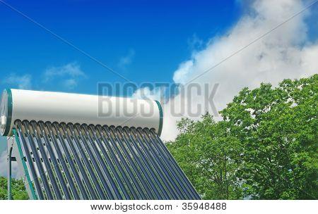 Sistema de calentamiento solar de agua