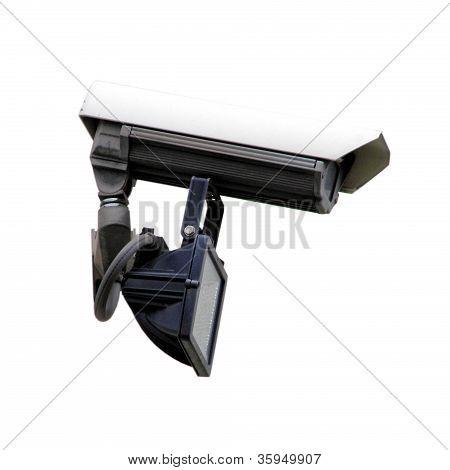 Câmera de vigilância CFTV circuito fechado tv