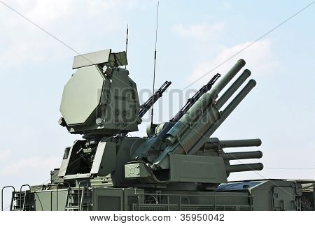 "Weapons Of Anti-aircraft Defense  "" Pantsir-s1"""