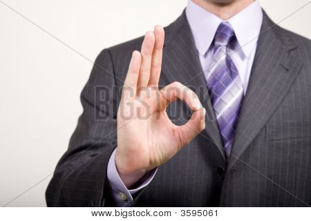 Business Man Gestures