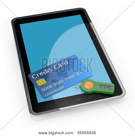 Concept Of Online Banking Service