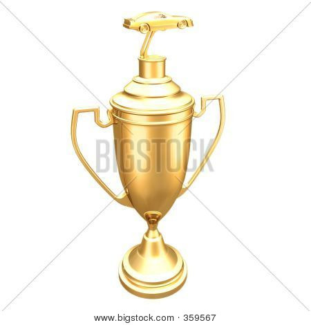 Category Auto Racing on Gilded Auto Racing Trophy 01 Stock Photo   359567   Bigstock