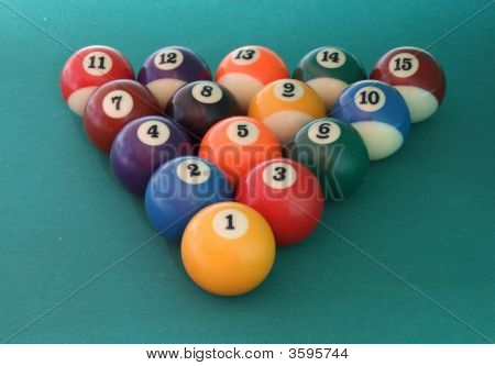 Billiard Balls Triangle