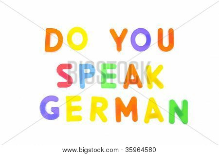 Do You Speak German.
