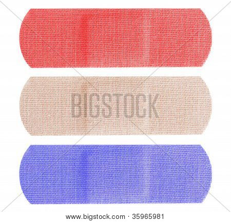Red White And Blue Bandaids