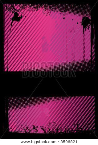 Vector Illustration Of A Grunge Wallpaper