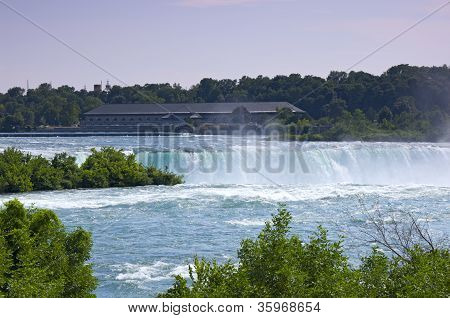 Power Generating Station At Niagara Falls Ontario