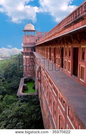 Agra Fort. Agra, Uttar Pradesh, India
