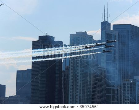 Chicago's Air and Water Show 2012