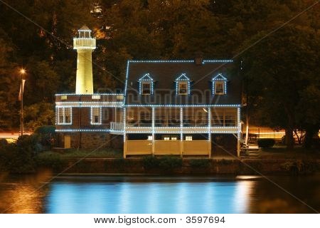 Boathouse Row Lighthouse