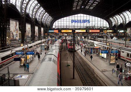 Trainstation Hamburg