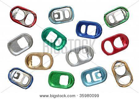 Ring-pulls.