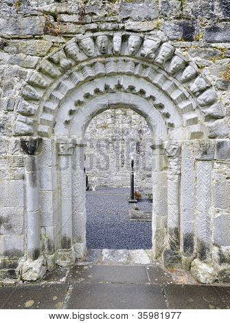 Doorway of Dysert O'Dea Church