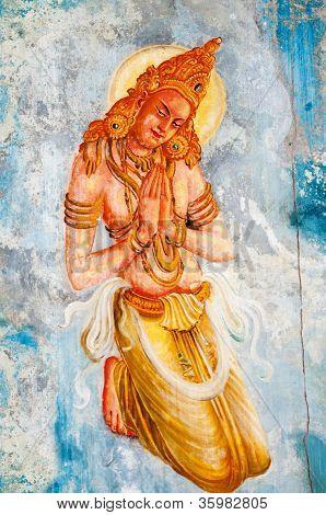 Buddhism Angel  - Deva