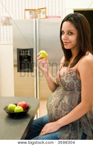 Healthy Pregnant Woman
