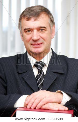 Successful Portrait Of Business Person