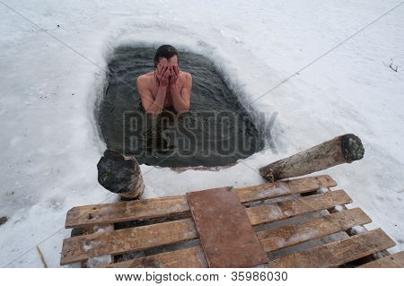 The Winter Swimming