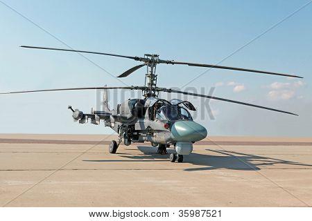 Combat Helicopter Ka-52