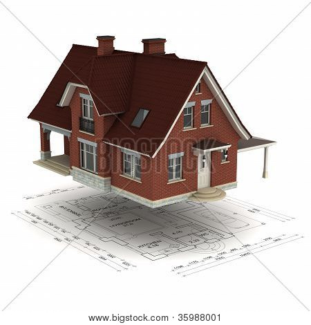 house with plan