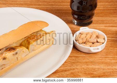 Spanish Tortilla Baguette