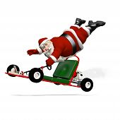 image of runaway  - Santa Runaway Go Kart - JPG