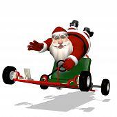 foto of runaway  - Santa Runaway Go Kart - JPG