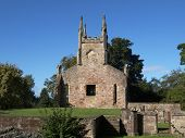 image of bute  - Ruins of Cardross old parish church and churchyard - JPG