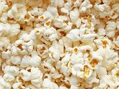 stock photo of maize  - Pop corn maize useful as a background - JPG