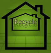 Home Recycling Symbols