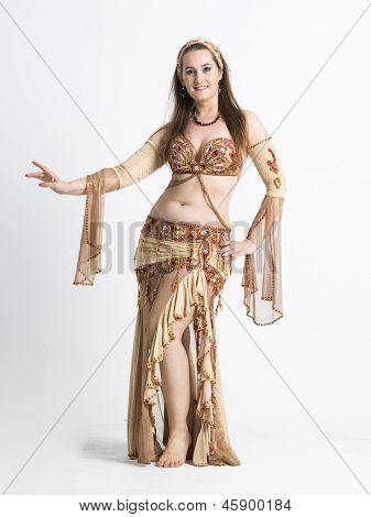 belly dancer woman