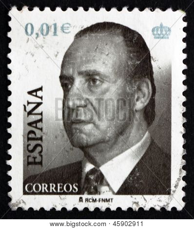 Postage Stamp Spain 2002 King Juan Carlos Of Spain