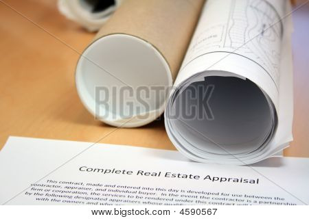 Real Estate Appraisal And Blueprints