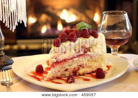 Valentines Dessert - Raspberry Cake