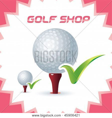 Golf Shop Icon