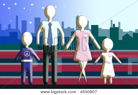 Familyskyline americano