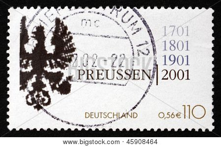 Postage Stamp Germany 2001 Coat Of Arms Of Kingdom Of Prussia