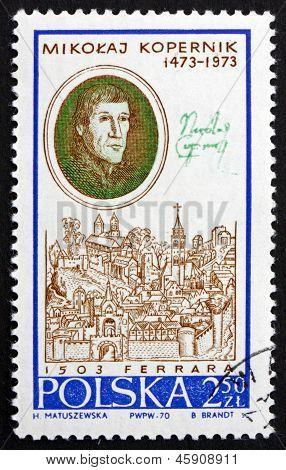 Postage Stamp Poland 1970 Nicolaus Copernicus