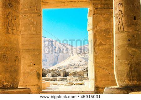 Ramesseum temple, Egypt