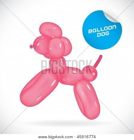 Balloon Dog Illustration