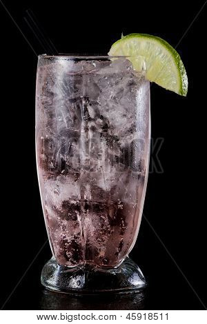 Vodka Soda Splash Cranberry