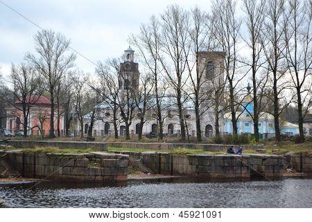 Blagoveshchensky Cathedral. Shlisselburg