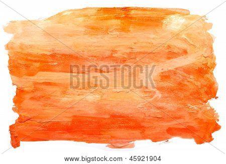 art daub watercolor orange background abstract paper texture iso