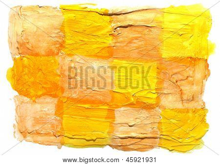 art daub watercolor yellow brown background abstract paper textu