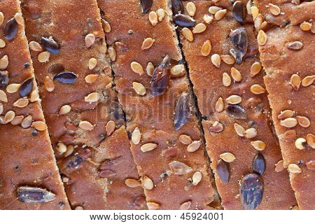 Multiseeded Bread's Crust Sliced