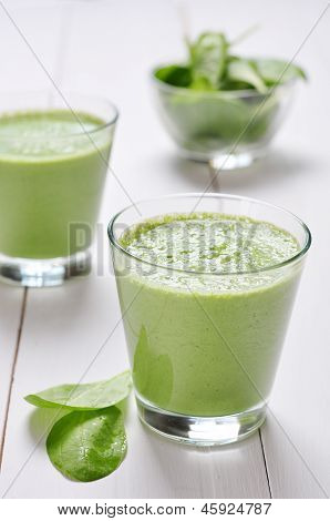 Spinat-Smoothies