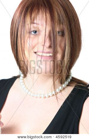 Redhead Close-up Portrait