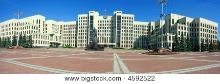 Palace Of Government In Minsk