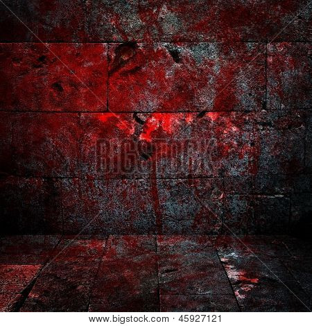 bloody interior background