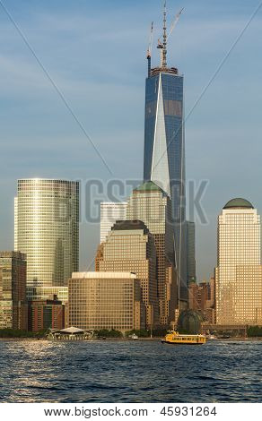 World Trade Center Reaches Final Height In New York City